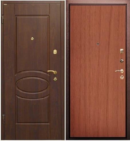 Стальной дизайн двери