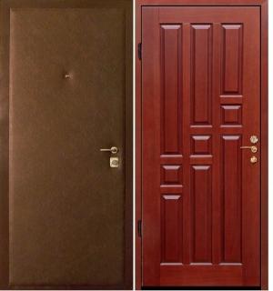 дверь железная 4мм