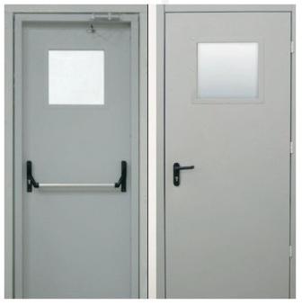 установка металлической двери в подсобное помещение