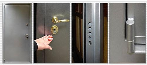 металлическая дверь 4 класса взломостойкости